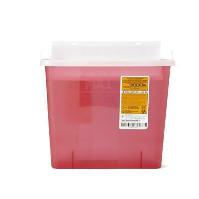 Sharps Container 5 Quart Biohazard Needle Disposal Sharp 5 Qt Doctor Tattoo Home