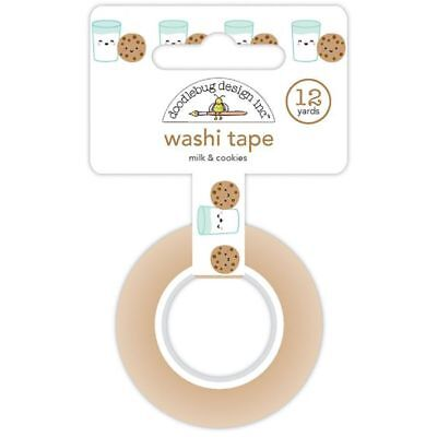 Scrapbooking Crafts Christmas Washi Tape Milk & Cookies Glasses Faces Choc (Christmas Tape)