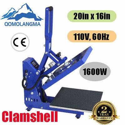 Clamshell Auto Open T-shirt Heat Press Machine 16 X 20 Horizon Version
