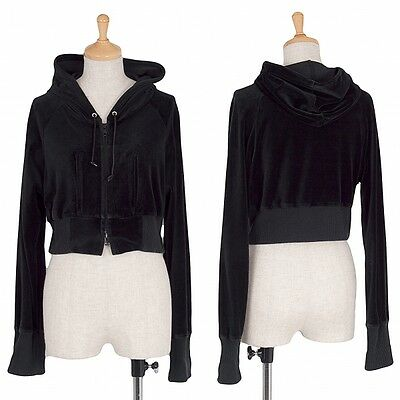 LIMI feu Zip Short Hoodies Size About  M(K-36874)