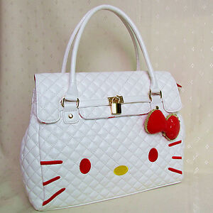 Hello Kitty Travel Tote Bag Shoulder Bag Handbag 100