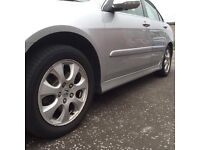 ORIGINAL HONDA ACCORD 2007 SIDE SKIRTS MK7 SILVER