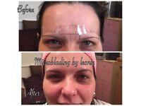 Microblading (natural stroke semi permanent brows)