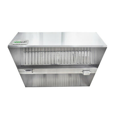 Hoodmart 6 X 60 Type 1 Commercial Kitchen Conveyor Pizza Hood
