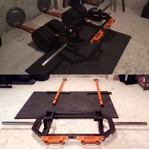 Hex trap barbell multi-purpose - Super VIKING press  West Island Greater Montréal image 1