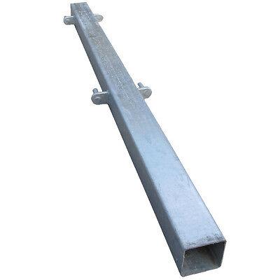 Square Metal Post galvanised square metal hanging & falling post farm field security