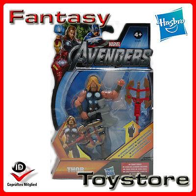 Thor Zubehör (The Avengers Thor with Hammer Figure Hasbro mit Zubehör OVP NEU)