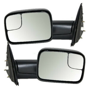 NEW 2002 - 2009 DODGE 1500, 2500,3500 POWER HEATED TOWING MIRROR Kitchener / Waterloo Kitchener Area image 2