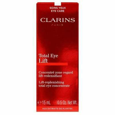 CLARINS SUPER RESTORATIVE TOTAL EYE CONCENTRATE 15ML - NEW BOXED & SEALED - UK