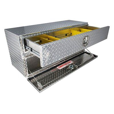 Accessory Hd Drawer - Unique Truck Accessories UB30-20TD Brute HD Two Drawers Underbody Tool Box