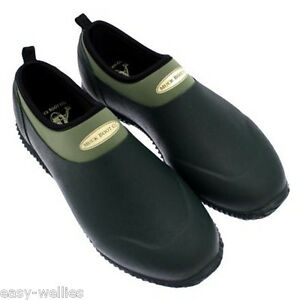 muck boots daily garden shoe green neoprene mens ladies