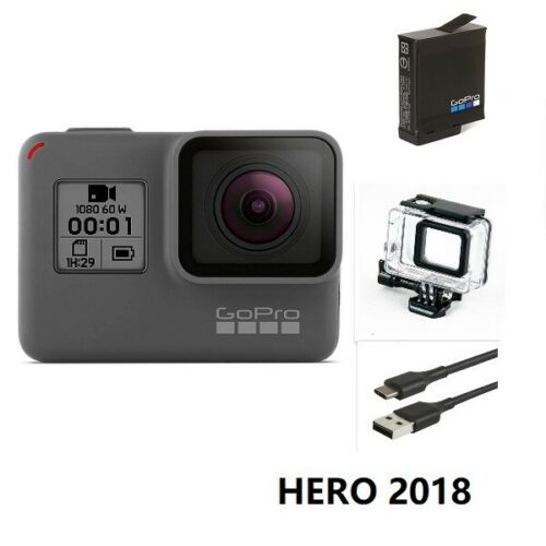 New GoPro HERO 2018 Waterproof Action HD Camera Touch Screen Camcorder Case USA