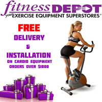 FREEDELIVERY CARDIO TREADMILL EXERCISE BIKE ELLIPTICAL EQUIPMENT
