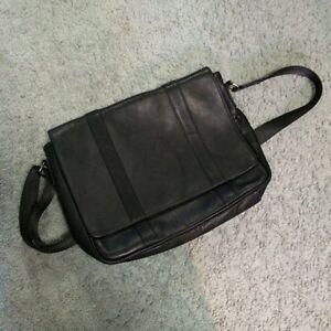 New Danier leather messenger bag