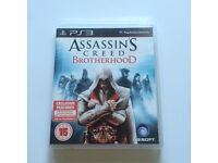 PS3 game. Assassins creed, Brotherhood.