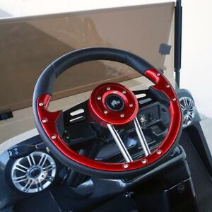 GOLF CART STEERING WHEEL SPECIALS!! All your golf car parts & accessories!!!