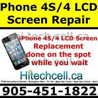 iPhone 4S/4 LCD Screen Repair - Hi TECH CELL