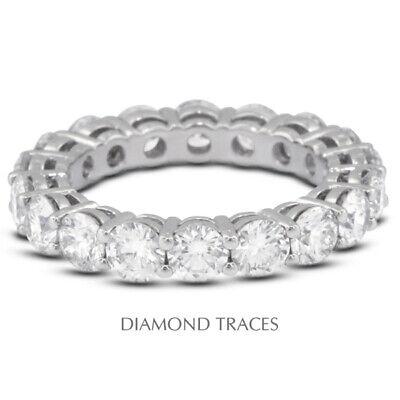 5 1/2 Ctw F VS2 Corte Redondo Tierra Minado Certificado Diamantes 18k...