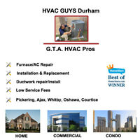 Fast Affordable HVAC, Furnace & Water Heater service
