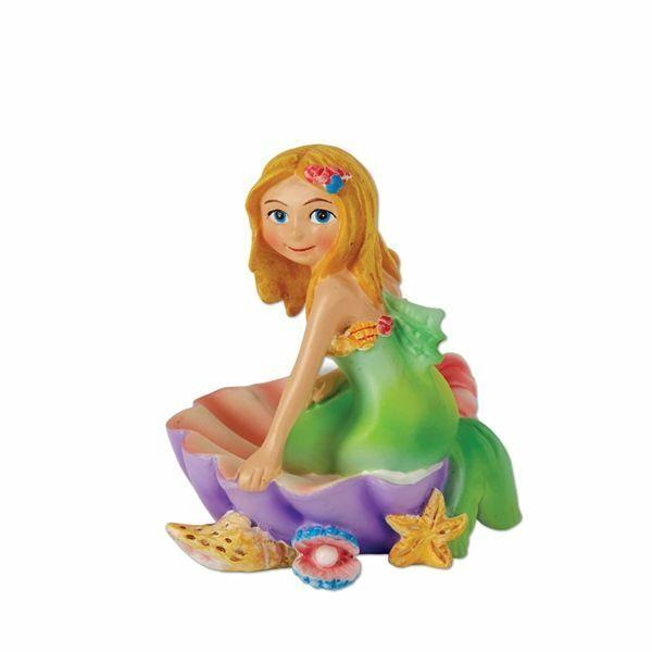 Miniature Fairy Garden Annie The Mermaid Figurine - Buy 3 Save $5