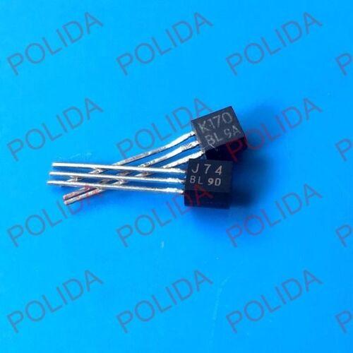 335 00 грн - 1pair Transistor TOSHIBA TO-92 2SJ74-BL/2SK170-BL J74