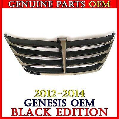 OEM GRILLE FRONT BUMPER For 86351-3M900 2012-2014 HYUNDAI GENESIS BLACK EDITION
