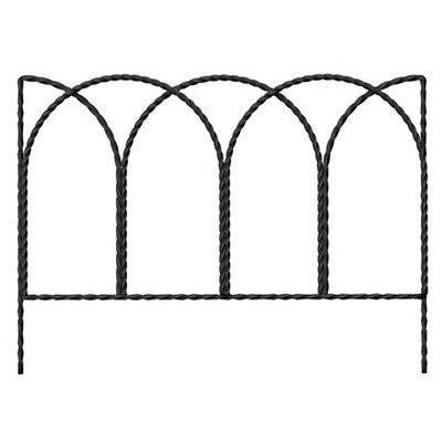 "Panacea 89362 Rustic Farmhouse Twisted Wire Border Edge, 14"" x 20"""