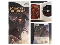 Wii Game Pirates of The Caribbean at worlds end