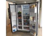 AEG large American style fridge freezer