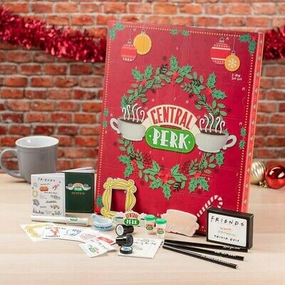 Friends TV Television Show Central Perk 24 Day/Door Advent Calendar