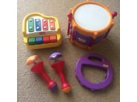 Little Tikes Music Set (4 piece)