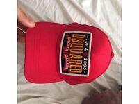 Red Dsquared mesh Cap £30