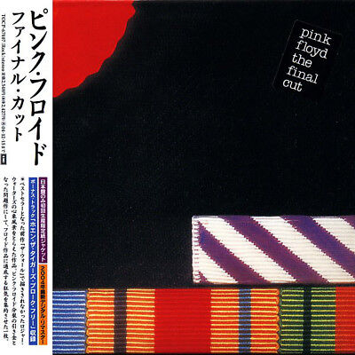 PINK FLOYD, THE FINAL CUT, AUTHENTIC JAPAN TOCP-67407 EDITION 16/06/2004 (NEW)