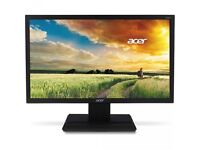 22 INCH TFT ACER 226HQL PC MONITOR HOME OFFICE COMPUTER CCTV GRADE