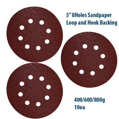Hanko 1500 Grit 5 Sanding Disc Hook /& Loop Style Film Backing Sandpaper 100//BX