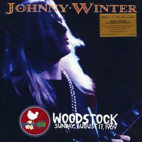 LP nieuw - Johnny Winter - The Woodstock Experience
