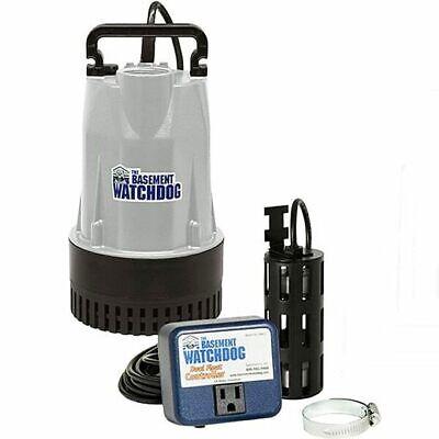 Basement Watchdog Bw1050 - 12 Hp Cast Iron Aluminum Submersible Sump Pump ...