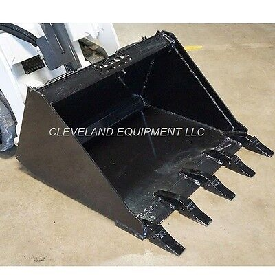 New 34 Mini Low Profile Tooth Bucket Boxer Ramrod Skid-steer Track Loader Teeth