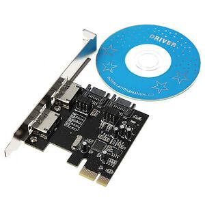 PCI-E PCI Express to 4 Port SATA 3.0 eSATA 6 Gbps Adapter Converter Card ASM1061