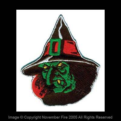 Old School Halloween (Patch Witch Old Hag Halloween Witchcraft Spooky Old School Wicked Witch)