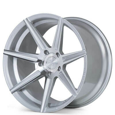 4ea 20x9/20x10 Ferrada Wheels F8-FR7 Machined Silver fit Maserati(S2)