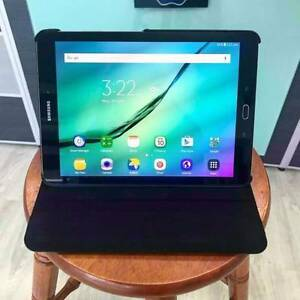 As new Samsung Galaxy Tab S2 32G with leather case and charger Nerang Gold Coast West Preview