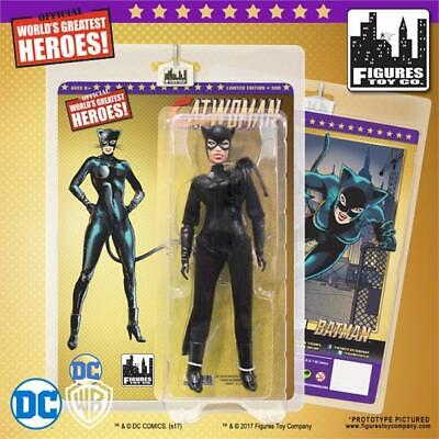 "Batman CATWOMAN 8"" Figure Gold Card Limited Edition MOC Mego-Figures Toy Co."