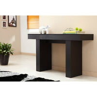Furniture of America Perry Modern Black Finish Console Table