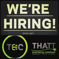 Immediate Opening for Foreman/Licensed Electrician