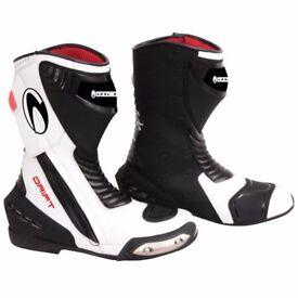 Richa Drift Waterproof Boot - Black / White