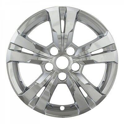 "2010-2016 Chevy EQUINOX 17"" Chrome Wheelskin Hubcap Cover IWCIMP-360X-17"""