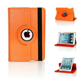 NEW 360 ROTATING PU LEATHER CASE COVER WITH STAND FOR IPAD MINI