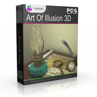 ART OF ILLUSION 3D MODELING ANIMATION DESIGN SOFTWARE