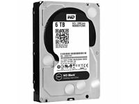 New Western Digital 6TB Black Hard Drive (WD6001FZWX) - Local Delivery/Collection only -